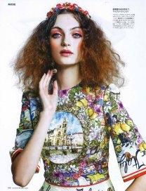 Joanna Stachniak for Madame Figaro